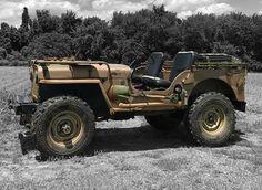 Cj Jeep, Jeep Wrangler Yj, Jeep Willys, Jeep Truck, 4x4 Trucks, Cool Trucks, Hot Rods, Military Jeep, Vintage Jeep