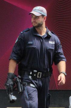 Cop Uniform, Men In Uniform, Police Cops, Police Officer, Man 2 Man, Hot Cops, Military Men, Sexy Men, Hot Men