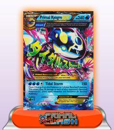 MEGA PRIMAL KYOGRE EX HP240 - 55/160