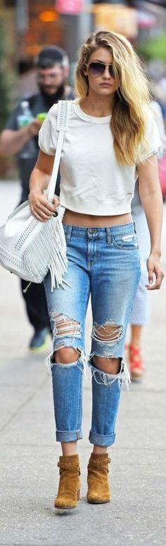 Gigi Hadid Model Style 102