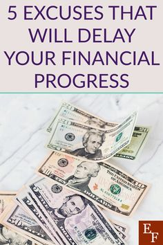 5 Money Excuses That Can Derail Your Financial Progress Payday Loans Online, Budgeting Tools, Throw In The Towel, Phone Plans, Finance Blog, Saving For Retirement, Band Aid, Financial Literacy, Money Saving Tips