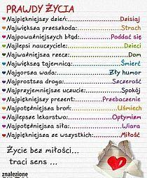 Stylowi.pl - Odkrywaj, kolekcjonuj, kupuj Something To Remember, Good Habits, The Words, Coping Skills, Life Motivation, Good Advice, Better Life, Motto, Just In Case