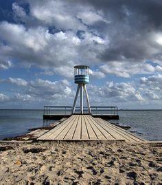 Klampenborg strand by Arne Jacobsen