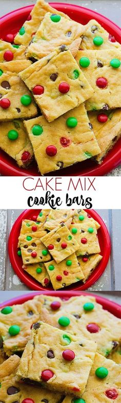These cookie bars are so easy and yummy!