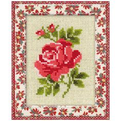 Image result for брошки с бродерия Rose Embroidery, Embroidery Patterns Free, Baby Knitting Patterns, Cross Stitch Patterns, Cross Stitch Rose, Cross Stitch Flowers, Pinterest Cross Stitch, Sewing Crafts, Needlework