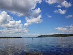 "Lake Pepin - so serene.  Lake City with boats and ice cream shops!  (The home of ""water skiing"".)"