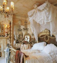 Victorian Bedroom Shabby Chic Bedrooms Canopy Bed Homes