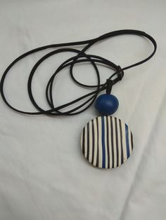 Royal blue with black and white stripes. Simple but also.stylish