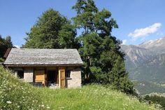 Acquarossa: schönes 4 Zimmer Bergrustico an Alleinlage, mit Zufahrt und Panoramablick