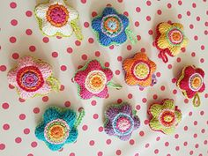Ravelry: snoflingan's Flower decoration