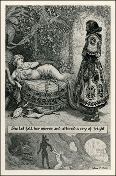 SACRED FAMILIAR: Frank C Pape - Dreaming in Black and White