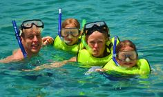 Things to Do with Kids: Snorkeling in Cabo San Lucas with Kids in Los Cabos, Mexico. http://visitloscabos.travel/ #Cabo #LosCabos #Beach #Vacation #Family