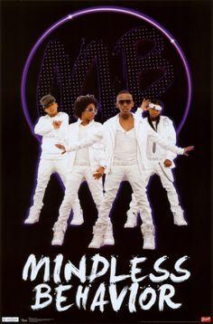 Mindless Behavior Poster
