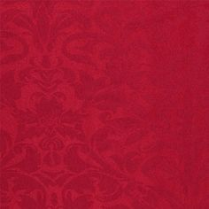 Jacquard mørk rød barokk med frøskaller