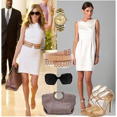 A fashion look from November 2011 featuring Thread dresses, Jimmy Choo sandals and Alaïa belts. Browse and shop related looks.
