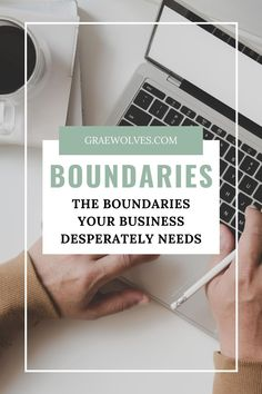 Your personal life is not the only place that needs boundaries. Your business does as well! Learn how to set these 7 boundaries in your business and boost your success! Creative Business, Business Tips, Online Business, Do You Need, Entrepreneur, Success, Wellness, Learning, Blog