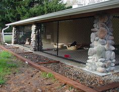 outdoor dog kennel - Google Search                                                                                                                                                     More