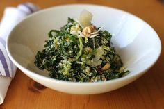 Recipe for kale and Brussels sprouts salad