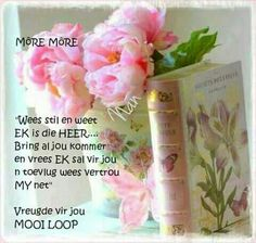 Goeie More, Afrikaans Quotes, Good Morning, Bring It On, Kos, Good Day, Bonjour, Aries, Buongiorno