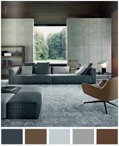 La mejor opción para crear un ambiente formal, relajado y acojedor en un ambiente sobrio y muy elegante.