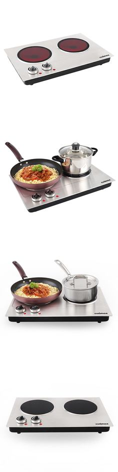 Burners and Hot Plates 177751: Infrared Cooktop Ceramic Double Countert Stainless Steel Cooking Camping Kitchen -> BUY IT NOW ONLY: $81.59 on eBay!