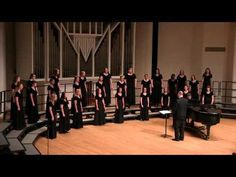 Heritage Women's Ensemble - Western Washington University. I love John Rutter's version of this. And, o-o-o-o-oh, this is so-o-o-o-o lovely. :)