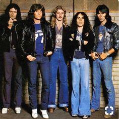 Rainbow with Ronnie James DIO.........