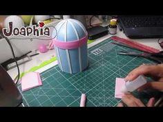 ▶ PARTE 1 - PAP GAIOLA DECORATIVA EM E.V.A. 3D - YouTube
