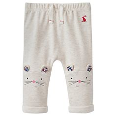 Buy Baby Joule Pattie Mouse Knee Joggers