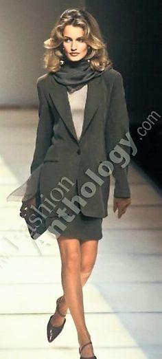 Karen Mulder - Giorgio Armani 1991