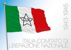 Italy, historical flag of the CNL, 1943 - 1945