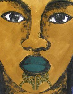 Artworks by Robyn Kahukiwa.