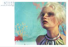 Guinevere Van Seenus, Watercolor Tattoo, Campaign, Ads, Cover, Temp Tattoo