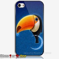 Toucan Bird iPhone 4/4S Case Cover | Merchanstore - Accessories on ArtFire