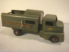 Structo Telephone Co Truck 1950's Pressed Steel