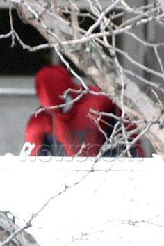Andrew Garfield: The Amazing Spider-Man Part 2 Set Photos
