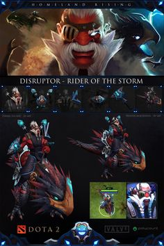 [Dota2] - Disruptor - Rider of the Storm - Polycount Forum - By Danidem