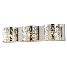 home decorators collection carterton chrome vanity light at the home depot mobile - Home Depot Vanity Lights