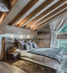 Rustic bedroom - dream room for sure! Rustic bedroom - dream room for sure! Rustic bedroom - dream room for sure! Rustic bedroom - dream room for sure! Bedroom Loft, Dream Bedroom, Master Bedroom, Bedroom Romantic, Modern Bedroom, Contemporary Bedroom, Bedroom Brown, Bedroom Rustic, Master Suite