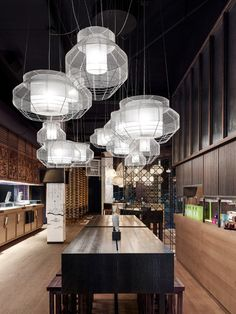 GinYuu, a pan-Asian restaurant in Stuttgart by Ippolito Fleitz Group