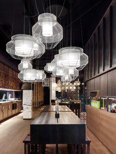 GinYuu, a pan-Asian restaurant in Stuttgart by Ippolito Fleitz Group