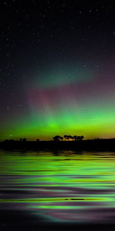 Aurora borealis over Kilmany in Fife, Scotland • photo: Corinne Mills on Flickr