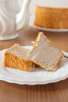 Fluffy banana chiffon cake is one of our all-time favourite Asian cakes. It's a good way to get rid of the ripe bananas.