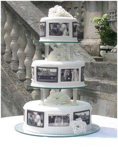 Another pretty photo wedding cake