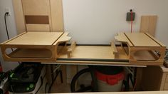 Modified Paulk MFT Workbench and Miter Saw Stand