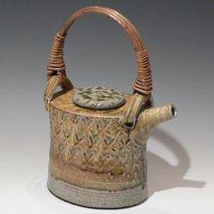Anne Mette Hjortshoj - salt glazed teapot