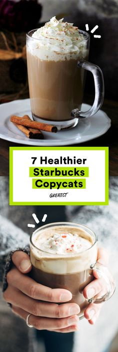 Skip the lines and the sugar-bomb syrups.  #healthy #Starbucks #recipe http://greatist.com/eat/starbucks-copycat-recipes