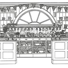 Great British Bake Off Colouring Book With Illustrations From The Series Books Amazon