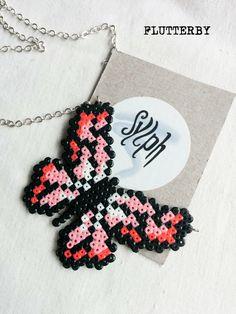 Mariposa con hama beads