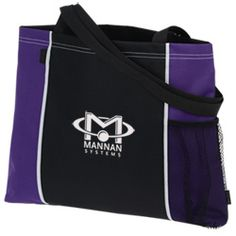 Try this classic personalized conference tote for your brand!